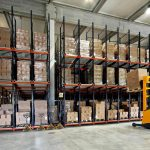 Warehouse forklifter