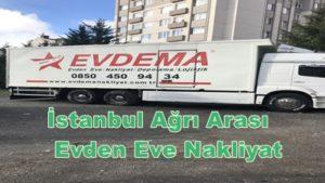 istanbul Ağrı Evden Eve Nakliyat
